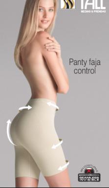 Panty faja control