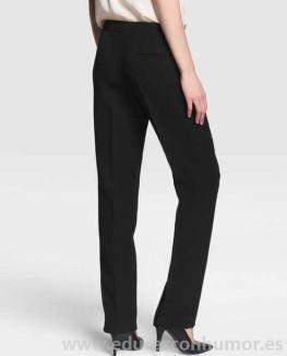 Negro - Mujer Pantalón básico de mujer Zendra El Corte Inglés en color negro FBYQQ-4542_02