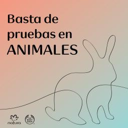 Basta de pruebas en animales.png